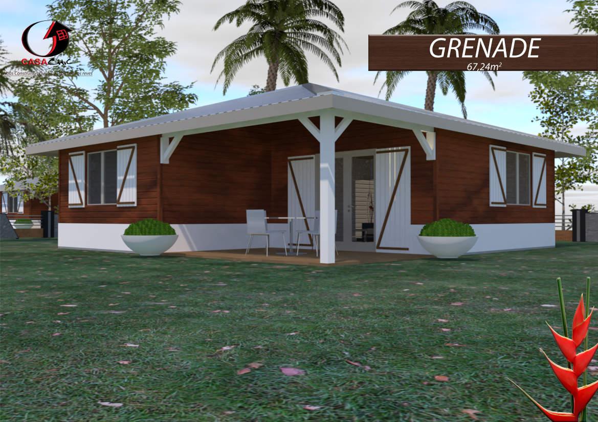 Construire sa maison en bois en martinique ou guadeloupe plans prix - Construire sa maison prix gros oeuvre ...
